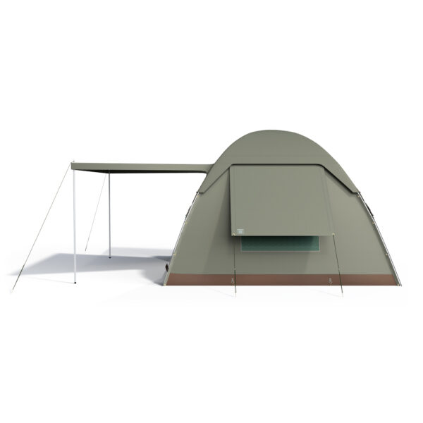 Bow tent side image