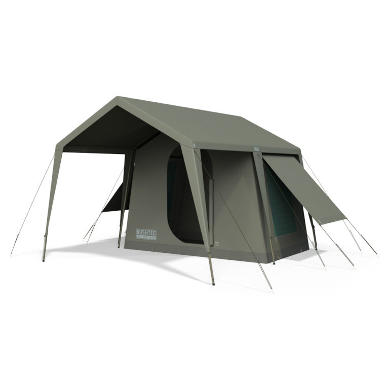 Bowtent side angle