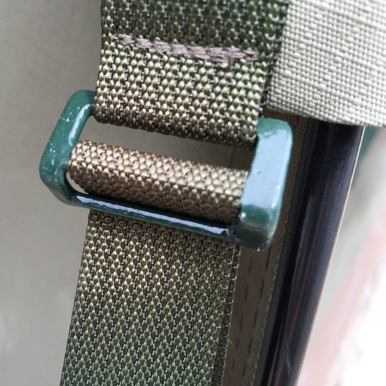 Close up of strap