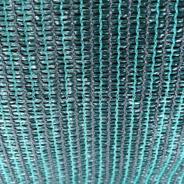 Green fabric webbing