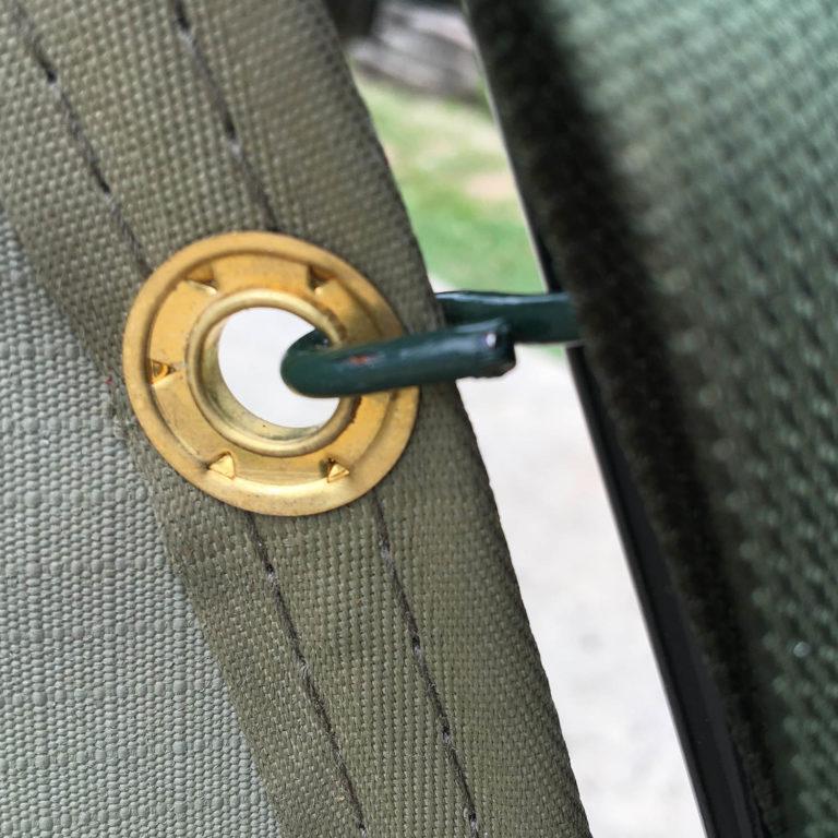 Close up of metal ring