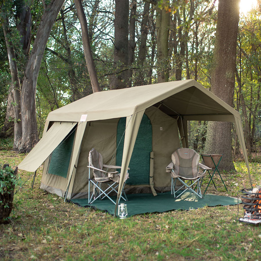 & Delta Zulu 3000 Chalet (Gazebo Not Included) - Bushtec Adventure