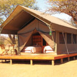 Echo 2200 Tent opened