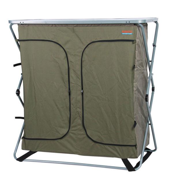 Sierra 4 Shelf Double Camp Cupboard Bushtec Adventure