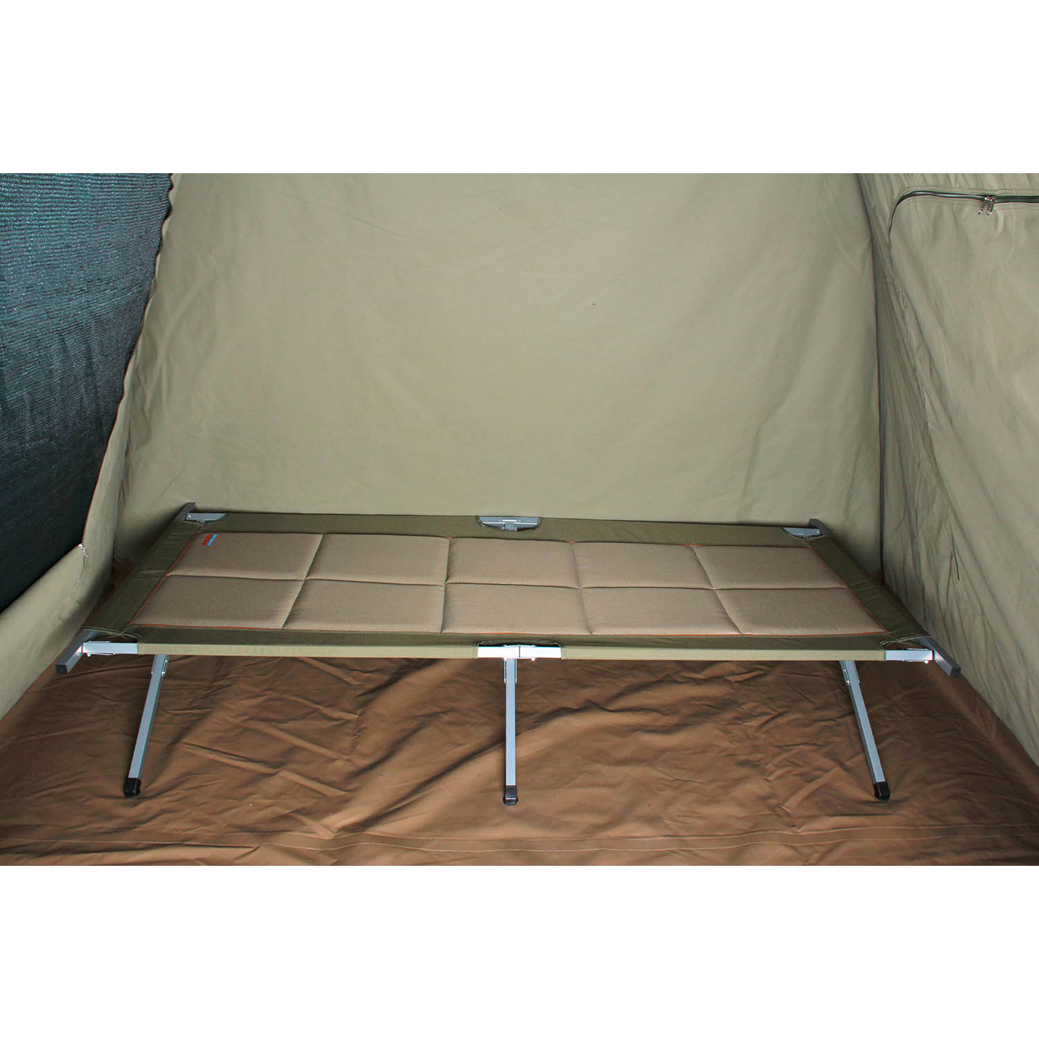 Sierra Oversized Camp Stretcher 187 Bushtec Adventure