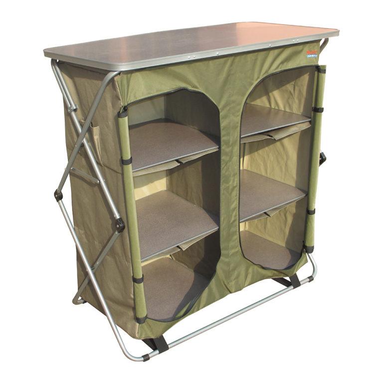 Camp food cupboard