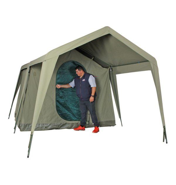 Delta Zulu Chalet Tent Combo Package Bushtec Adventure