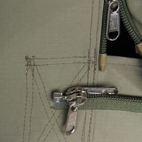 Delta Zulu 3000 YKK Zippers