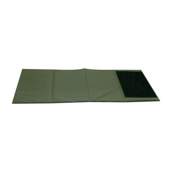Unrolled hunting mat