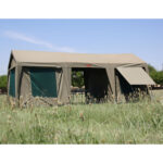 Large gazebo and tent combo