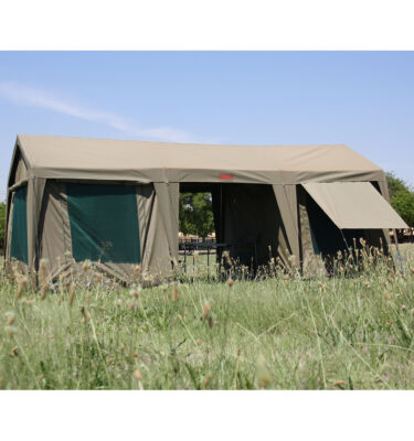 Large gazebo and tent combo