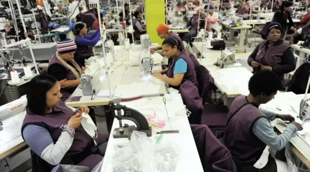 Women in textile factory